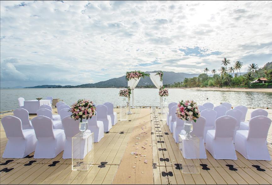 苏梅岛婚礼拍摄,旅游