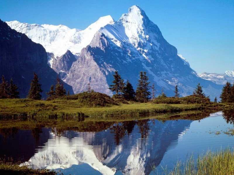 """湖光山色""""醉"""" 瑞士旅游攻略"""