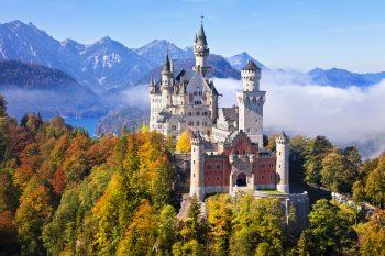 欧洲旅游 多瑙河和阿尔卑斯孕育的土地