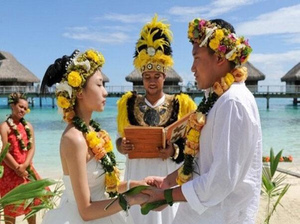 大溪地波拉波拉婚礼-蜜月-旅游