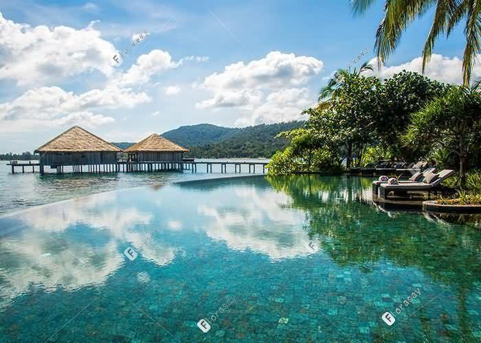 柬埔寨颂萨私人岛屿度假酒店
