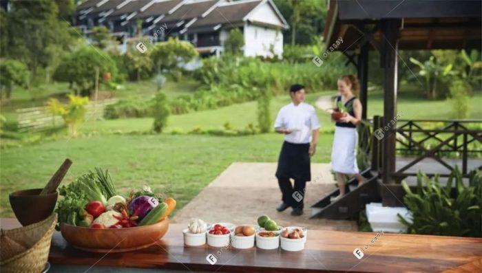 老挝琅勃拉邦攀喜风筝山酒店