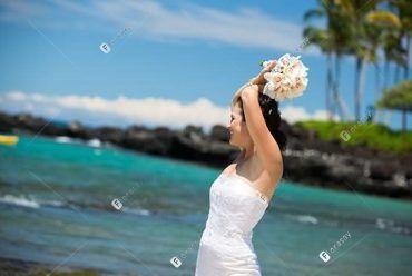 夏威夷婚礼之阳光女孩婚礼