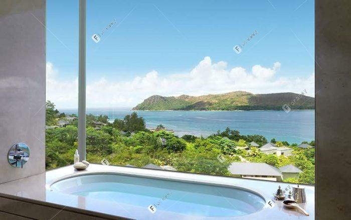 塞舌尔普拉兰岛莱佛士度假酒店