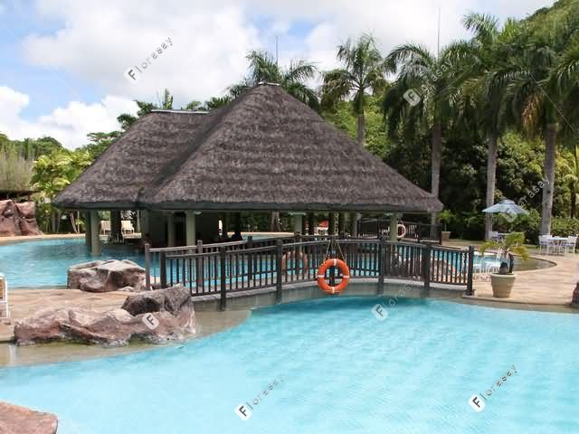 塞舌尔瑞瑟夫庄园酒店 William's Pool酒吧