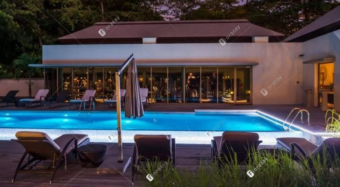 塞舌尔萨沃伊水疗度假酒店 游泳池
