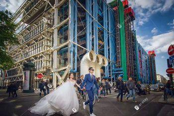 海外婚礼之手牵手城市婚拍