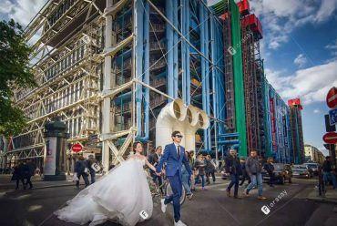 海外婚拍之手牵手城市婚礼