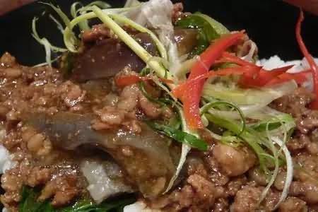 塞舌尔美食茄子咖喱鸡
