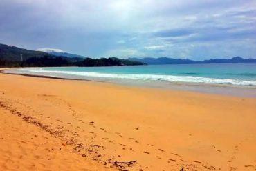 塞舌尔马埃岛大海滩