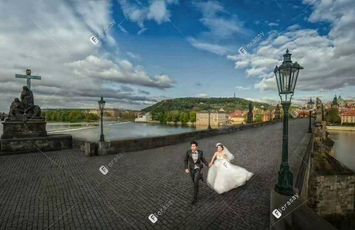 巴黎海外婚礼之我们的爱海外婚拍
