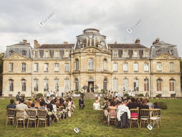 法国巴黎海外婚礼-香步蓝格城堡