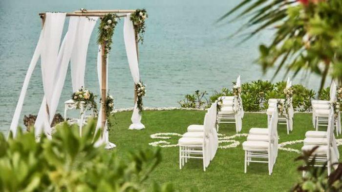 到巴厘岛四季酒店举办梦想婚礼