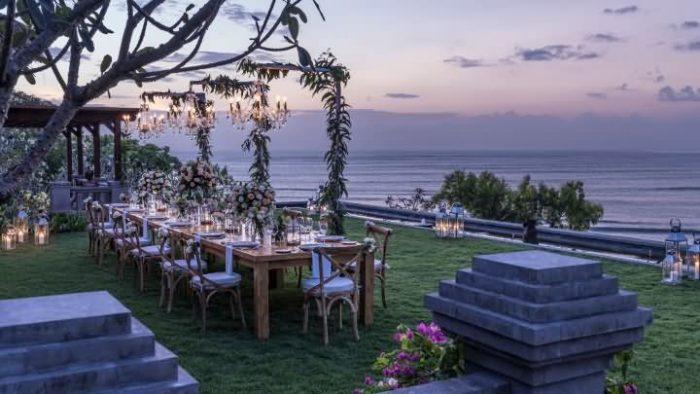 巴厘岛海外婚礼 四季金巴兰酒店婚礼套餐