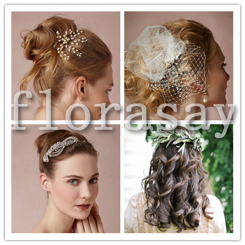 新娘婚礼发型全攻略