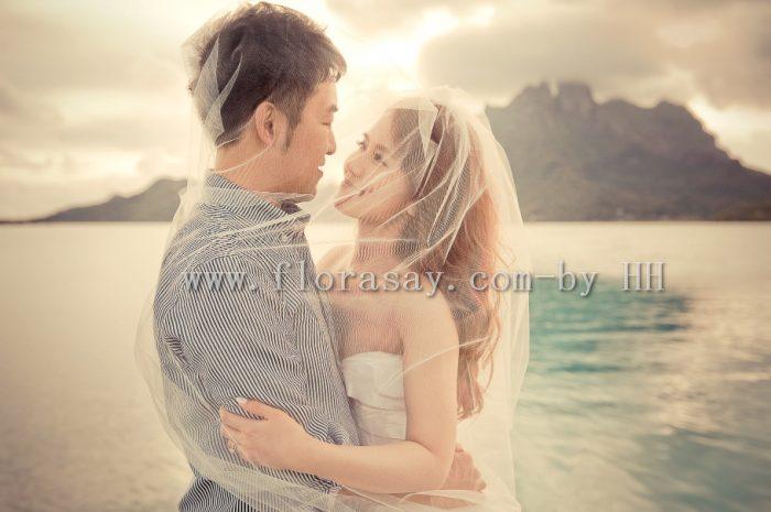 大溪地婚礼蜜月婚拍旅拍