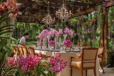 风景秀丽泰国清迈四季酒店,性价比传统泰式兰纳海外婚礼套餐