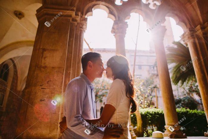欧洲克罗地亚杜布罗夫尼克婚拍旅拍视频拍摄