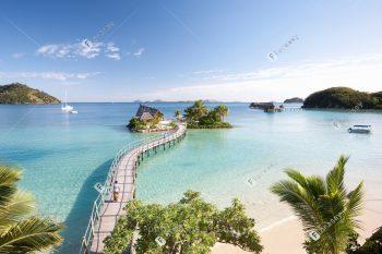 无人触碰的世外桃源斐济海外婚礼 里库里库likuliku度假村海岛婚礼套餐