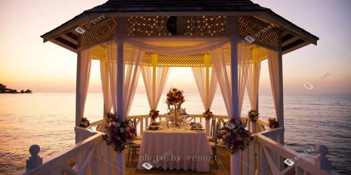 牙买加海外婚礼,加勒比风情度假婚礼套餐