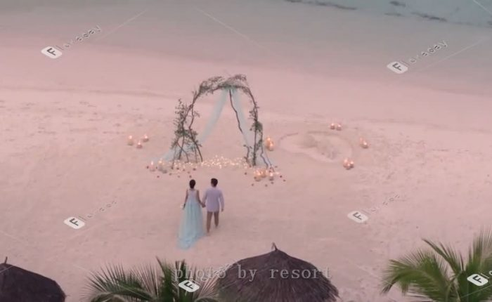马尔代夫海岛婚礼,小四季库达浪漫婚礼套餐