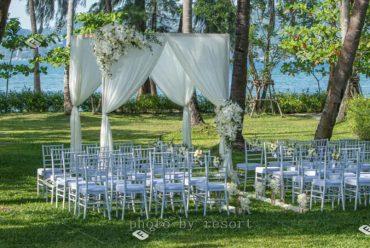 美丽海滩普吉岛瑰丽酒店海外婚礼,奢华海岛婚礼套餐