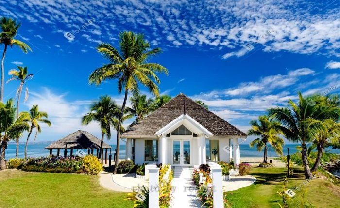 太平洋的十字路口斐济海外婚礼,好莱坞明星最爱的海岛婚礼套餐