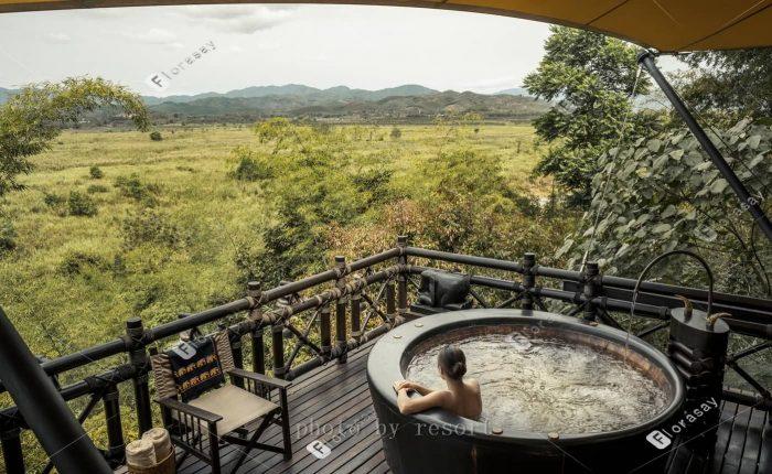 泰国金三角森林和大象,泰式海外婚礼套餐