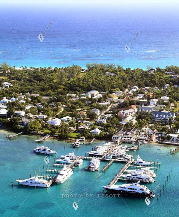 加勒比风情巴哈马海外婚礼,粉红沙滩浪漫婚礼套餐