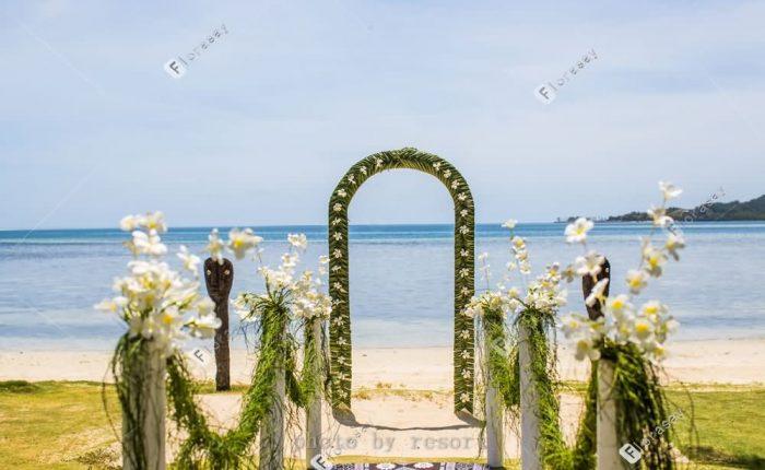 以爱之名斐济洛玛尼海外婚礼,极致浪漫的海岛婚礼套餐