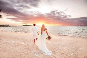 以爱之名斐济洛玛尼海外婚礼 极致浪漫的海岛婚礼套餐