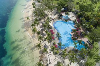 迎接最早的日出斐济海外婚礼 雅奴卡私人岛香格里拉海岛婚礼套餐