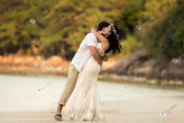 迷人景致泰国苏梅海岛婚礼,四季酒店浪漫海外婚礼套餐