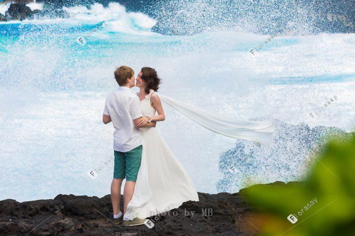 又炫酷又温馨的野性海岛毛里求斯海外旅行 婚纱摄影婚拍旅拍视频拍摄及毛里求斯海岛婚礼套餐