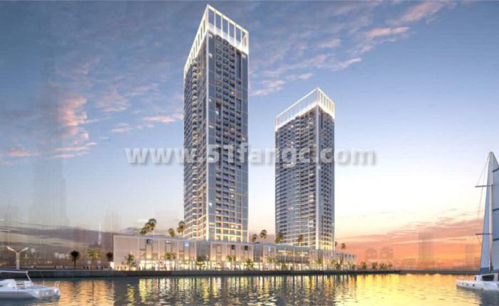 筑于迪拜中央繁华之上海外房产,阿联酋迪拜达马克梅森酒店公寓