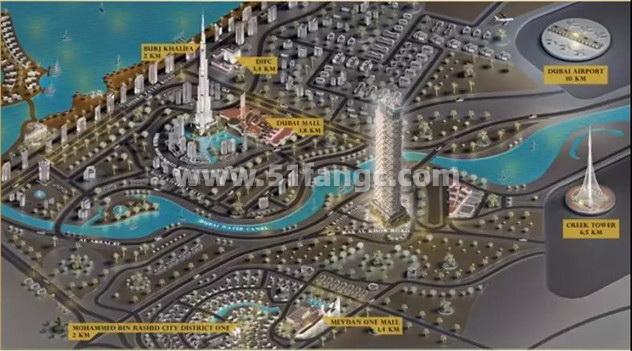 阿联酋迪拜SLS奢华酒店公寓海外房产,尽享现代奢华娱乐体验