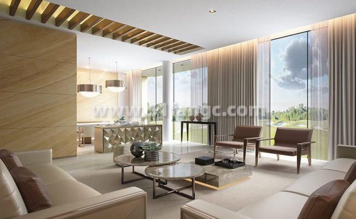 阿联酋迪拜达马克山庄芬迪别墅海外房产,尽享锦标赛高尔夫球场