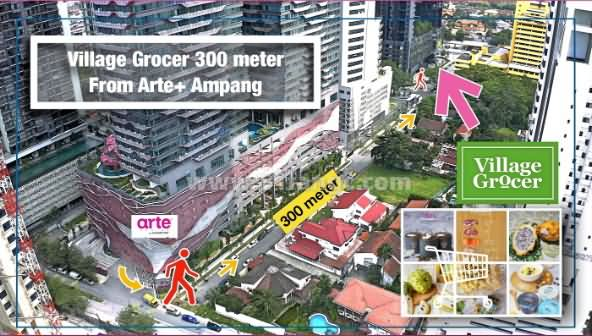 马来西亚吉隆坡Arte Plus公寓,城市心脏地带的幽静之地