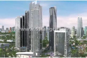 马来西亚吉隆坡Semarak 20公寓,市中心地标性建筑