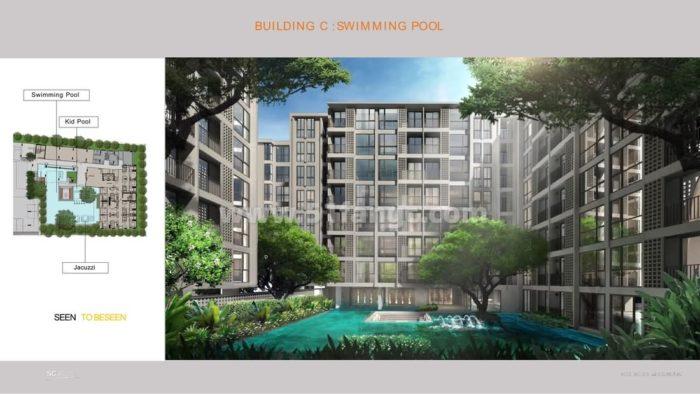 泰国曼谷Chambers On Nut Station性价比公寓,家门口即商场和安努站轻轨