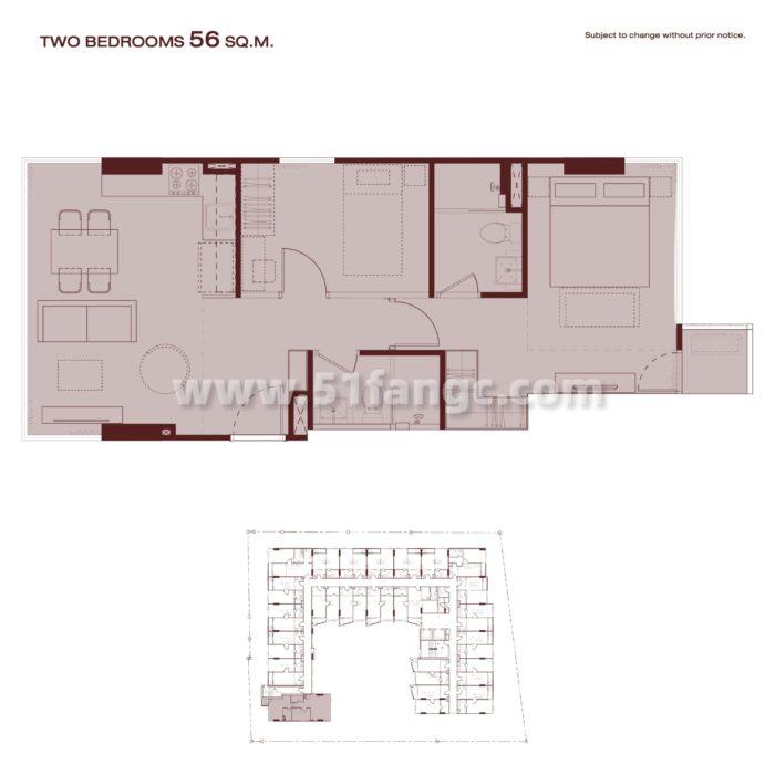 泰国曼谷Quintara Arte Sukhumvit 52公寓,坐拥繁华曼谷顶级商业区