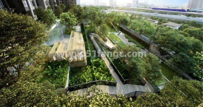 泰国曼谷Life Sathorn Sierr公寓海外房产,打造独一无二的森林社区